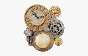 steampunk gear wall clock hd png