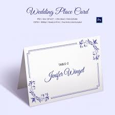 Delicate Lace Place Wedding Place Card