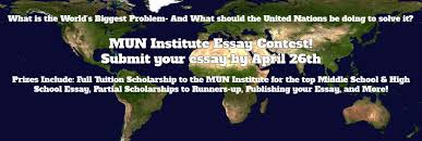 model un scholarship essay contest what is the world s biggest  model un scholarship essay contest what is the world s biggest problem image