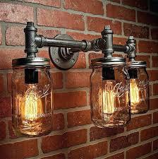 steampunk lighting supplies steam punk lighting industrial lighting lighting mason jar light steampunk lighting bar light