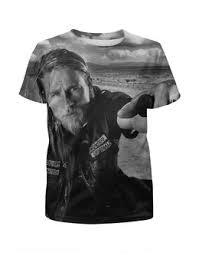 """Детские футболки c необычными принтами """"сыны <b>анархии</b> ..."""