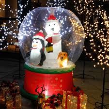 Details Zu Led Schneemann Schneefall Beleuchtet Aufblasbar Snowman Outdoor Weihnachtsdeko