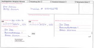 Office Invoice Semester Invoices Student Portal Eth Zurich