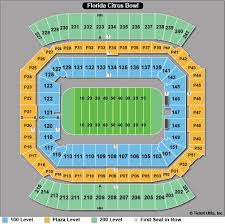 Camping World Stadium Interactive Seating Chart Camping World Stadium Seat Map Stylish Ideas Camping World