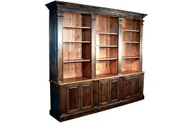 bookshelf wall unit bookcase provincial with walnut stain and natural interior plans bookshelf wall unit