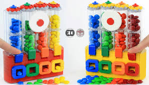 Lego Vending Machine Kit Awesome LEGO IDEAS Product Ideas MM's Chocolate Candy Dispenser