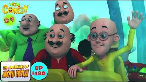 the villain mask motu patlu in hindi 3d animated cartoon series for kids as on nick