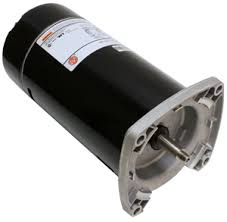 replaceable pool pump motor parts available from poolcenter com 48y square flange in ground pool pump motors