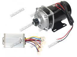 e bike dc geared motor 24v 530rpm 650w with controller