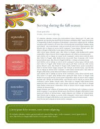 october newsletter ideas template for newsletter kays makehauk co