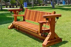 custom adirondack chain glider options 3 person redwood classic swing bench