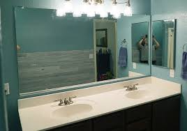 diy bathroom mirror frame for under 10