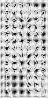 Filet Crochet Patterns Fascinating 48 Best Filet Crochet Charts Images On Pinterest Cross Stitch