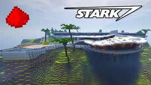 stark mansion in minecraft w 500 mand blocks mand block house you