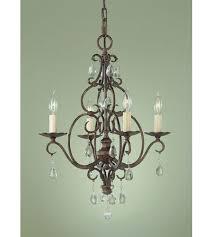 feiss f1904 4mbz cau 4 light 17 inch mocha bronze mini chandelier ceiling light photo
