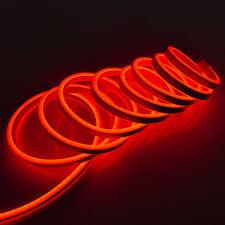 B Ware Neon Lichtschlauch 9 M Rot Mit 1080 Led Ip44 Für Außen