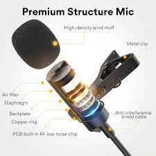 USB-Lavaliermikrofon von MAONO AU-410 Knopflochmikrofon zum Befestigen an  Hemd, Kragen für PC-Computer, Laptop, Youtube, Skype-Aufnahme, Live  Broadcasting : Amazon.de: Musikinstrumente & DJ-Equipment