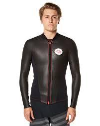 Nine Plus Wetsuit Size Chart Nineplus Retro Jacket With Front Zip Wetsuit Vest Black