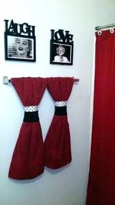 Black and red bathroom accessories Accent Color Black Bathroom Decor Red Bathroom Decor Red And Black Bathroom Accessories Eye Catching Best Red Bathroom Xedulichinfo Black Bathroom Decor Bostonga