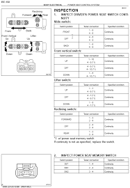 how to wire electric seats in your manual seat is300 lexus is forum here s an image from my pdf manual