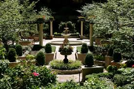 Small Picture Courtyard landscape design