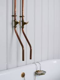 Diy Bathroom Faucet Steal This Look A Vintage Bath In England With A Diy Faucet