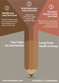 What Are Your Short Term Goals Articles Top 3 Tips To Summarize Your Long Term Goals In
