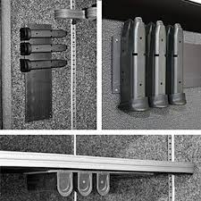 Gun Safe Magnetic Magazine Holder Best Gun Storage Solutions Magnetic Magazine Clip Mount