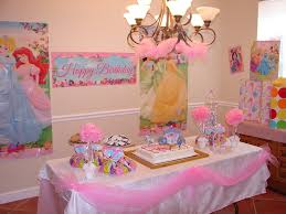 Party Cake Table Decorations Birthdays Pinterest Princess