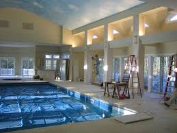 Big Houses With Pools Inside The House Pin And More On Dream Homes
