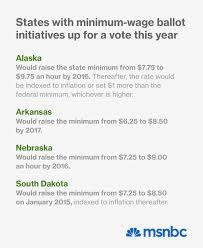 red states consider minimum wage hike msnbc