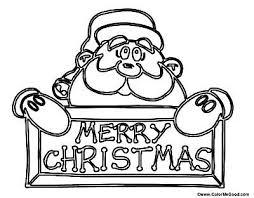 Santa Claus Printables Free Santa Coloring Pages And Printables For Kids