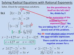 radical equations day 2 10 solve