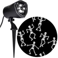 Points Of Light Walmart Halloween Lightshow Projection Points Of Light Skeleton