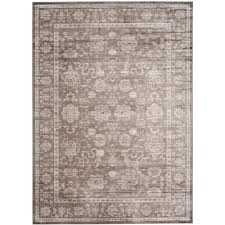 safavieh vintage brown ivory 9 ft x 12 ft area rug