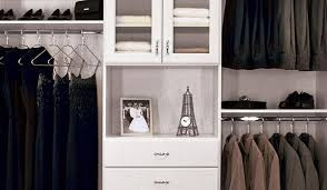 Custom reach in closets Shelves Custom Reach In Closet Design With Hutch And Glass Doors Closet Works Closet Works Reach In Closets Ideas For Bedroom Closets