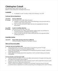 hospitality skills resume barista resume example hospitality job skills for  resume