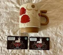 Gift cards are the same as the rewards card (msr = my starbucks rewards). Starbucks Chinese New Year 9 Gift Cards Dragon 2012 2020 Complete Set 3 Bonus 24 88 Picclick