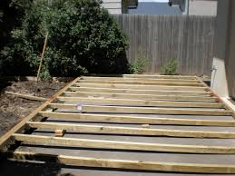 build wood deck over concrete patio wood patio decks designs