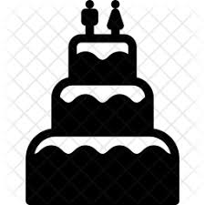 Wedding Cake Icon Of Glyph Style Available In Svg Png Eps Ai