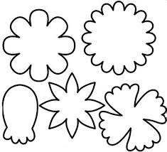 Free Printable Flower Templates Free Download Clip Art