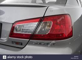 2009 Mitsubishi Galant Ralliart in - Tail light Stock Photo ...