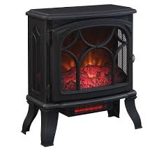 Duraflame 1500W Large Infrared Quartz Stove Heater w/Flame Effect ...