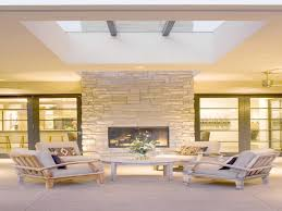 indoor outdoor gas fireplace see through