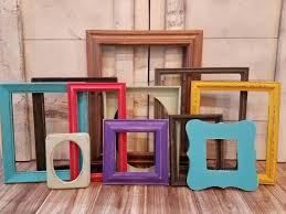 picture frame collage wall decor