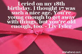 Quotes 18th Birthday