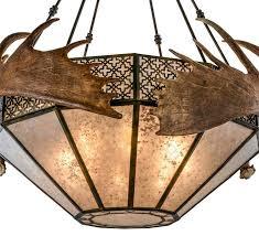 pendant moose antler light fixtures moose antlersrustic western decorrustic