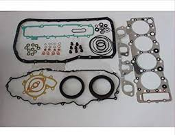 Amazon.com: GOWE full gasket set For ISUZU engine parts 4HE1 full ...