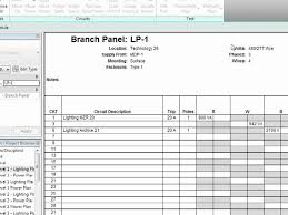 Revit Mep 2012 Tutorial Electrical Systems Panel Schedules