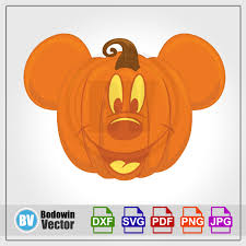 Mickey Mouse Halloween Pumpkin SVG / Instant Download /Digital Clipart